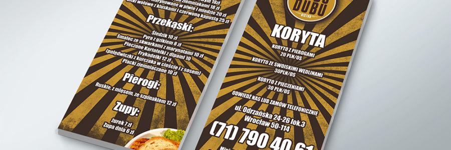 Plakaty i ulotki  – Łubudubu