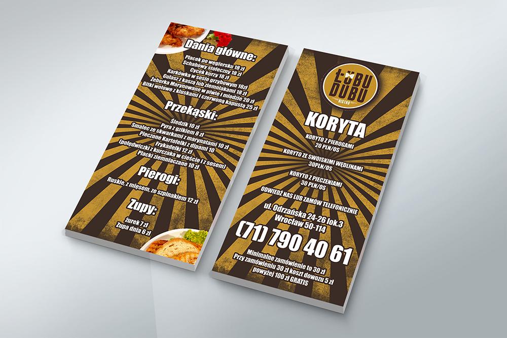 Plakaty I Ulotki łubudubu Reklama Na Poziomie