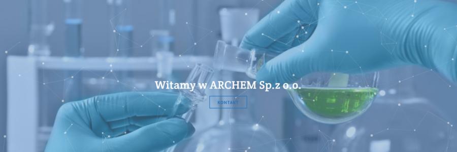 Archem Sp.z o.o. – strona internetowa