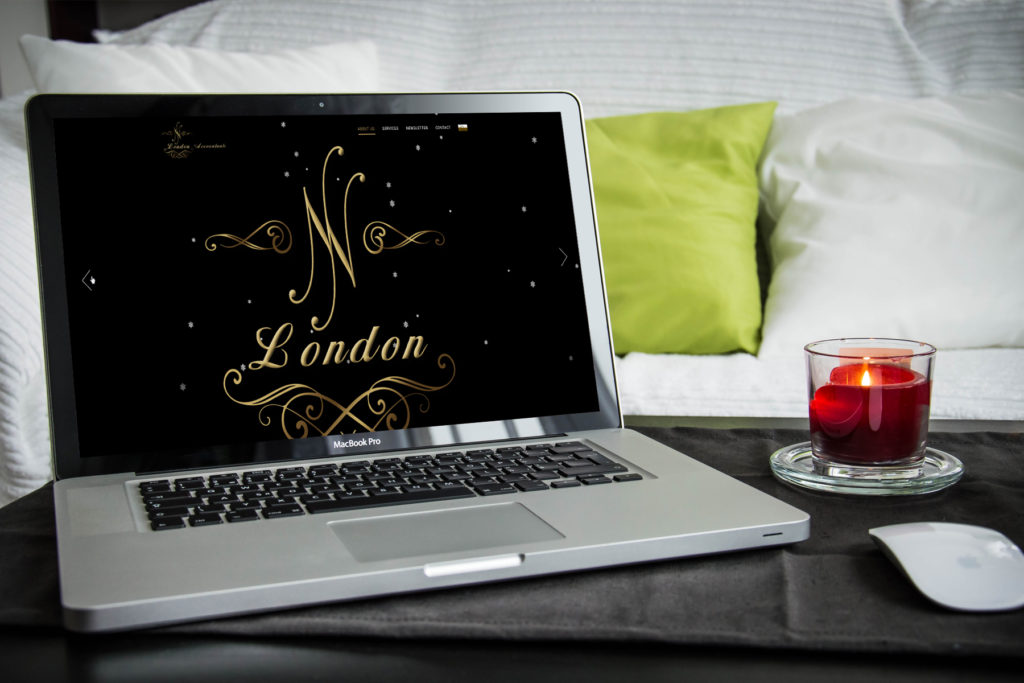 NN London – logo i strona www