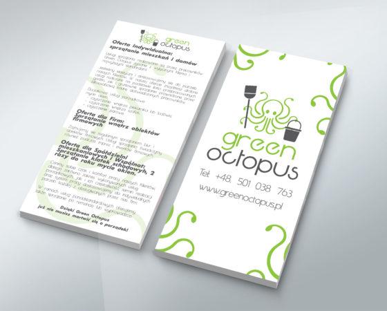 Green Octopus – oprawa wizualna