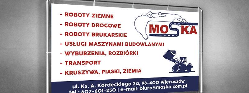 MOSKA – Baner