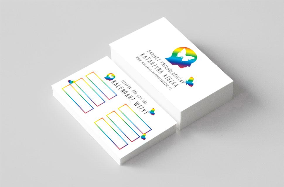 Gabinet Psychologiczny – logo i wizytówki